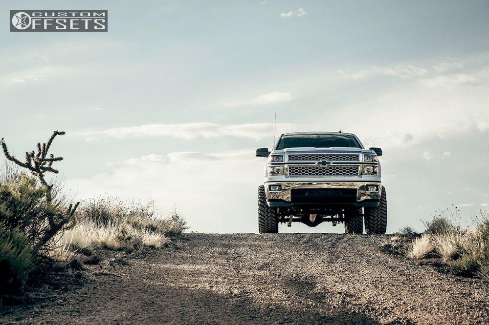 16 2014 Silverado 1500 Chevrolet Suspension Lift 6 Fuel Nutz Black Slightly Aggressive