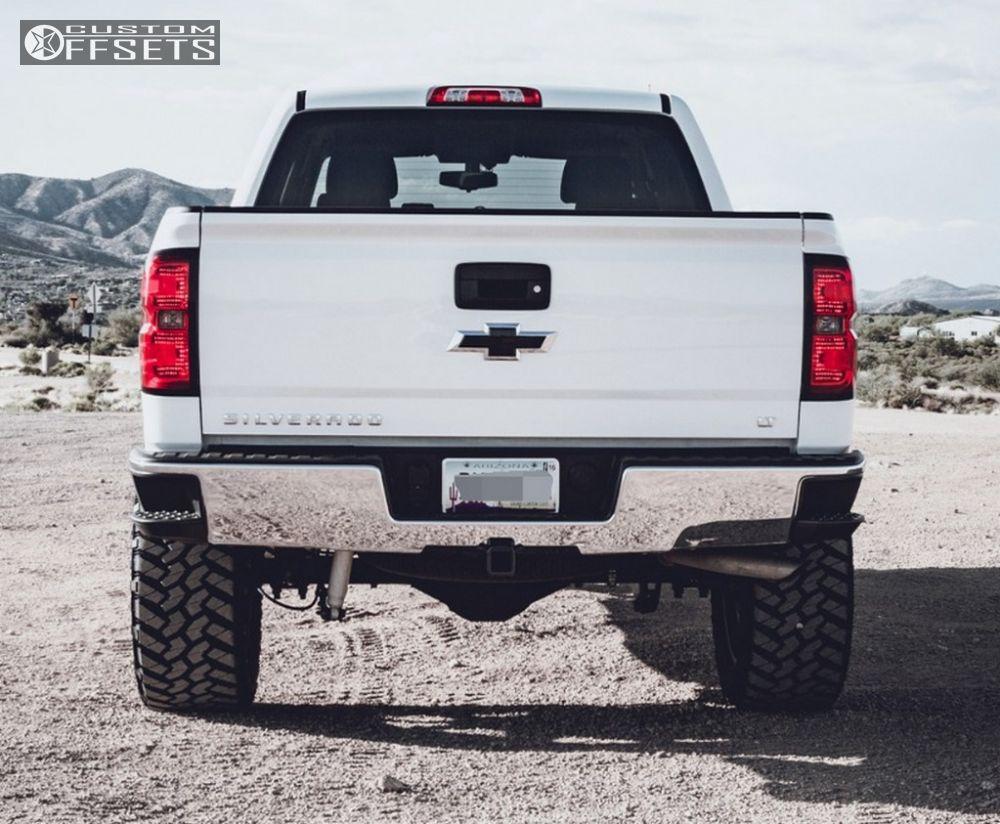 3 2014 Silverado 1500 Chevrolet Suspension Lift 6 Fuel Nutz Black Slightly Aggressive