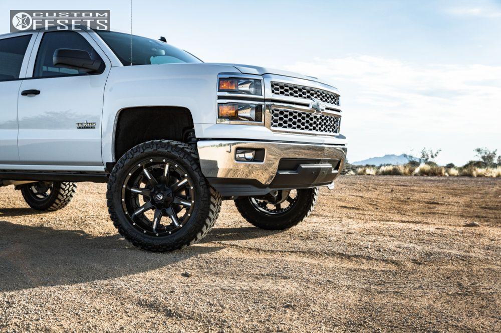 9 2014 Silverado 1500 Chevrolet Suspension Lift 6 Fuel Nutz Black Slightly Aggressive