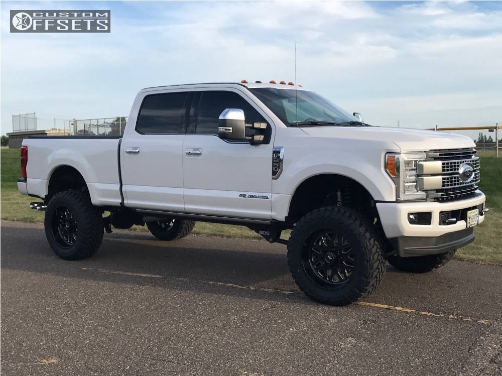 1 2017 F 250 Super Duty Ford Bds Suspension Lift 6in American Force Evo Ss Machined