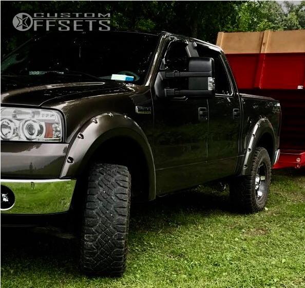 15 f 150 ford readylift leveling kit xd badlands machined black