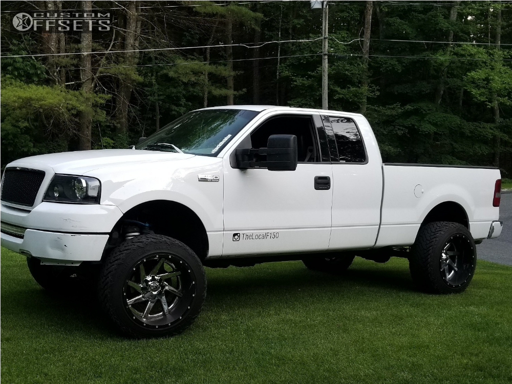2004 Ford F 150 Fuel Maverick Rough Country Suspension Lift 6in Custom Offsets