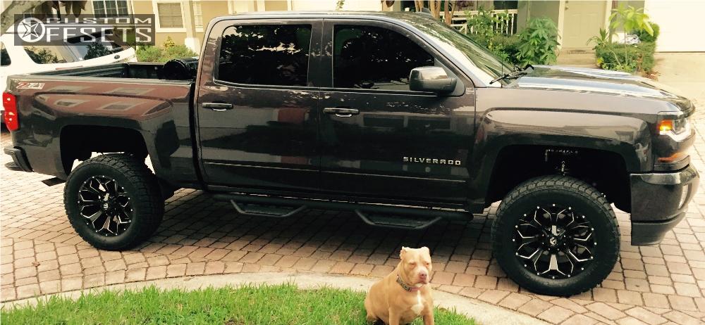 2016 Chevrolet Silverado 1500 Fuel Assault Bds Suspension ...