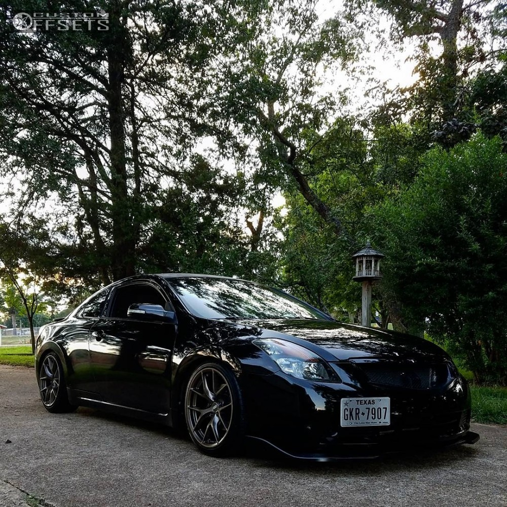 2008 Nissan Altima Esr Rf2 Bc Racing Coilovers Custom Offsets