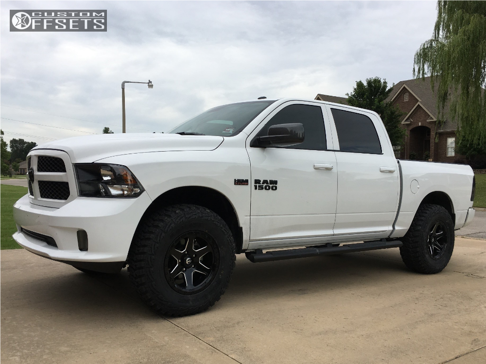 1 2017 1500 Ram Bilstein Leveling Kit Fuel Ripper 589 Machined Accents