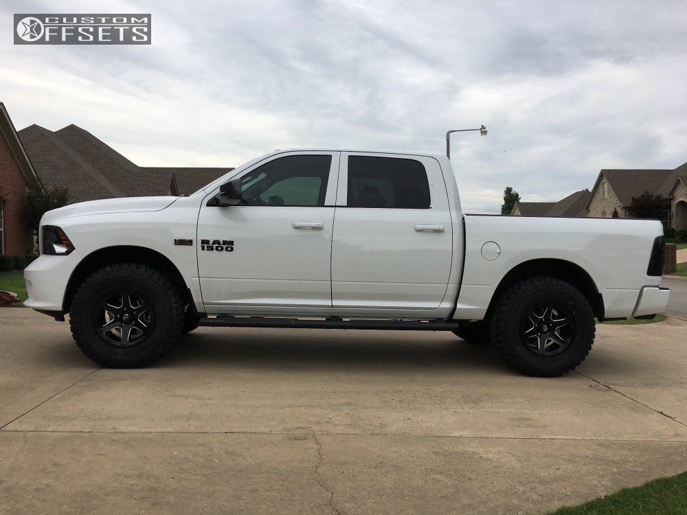 12 2017 1500 Ram Bilstein Leveling Kit Fuel Ripper 589 Machined Accents
