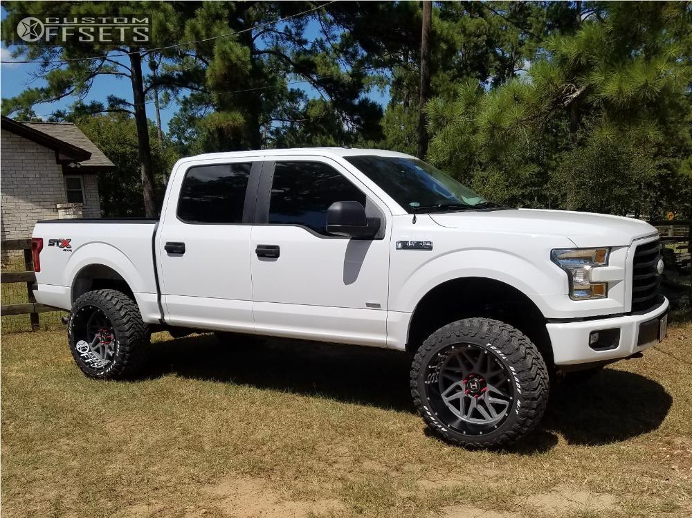 1 2017 F 150 Ford Rough Country Suspension Lift 6in Hostile 108 Custom