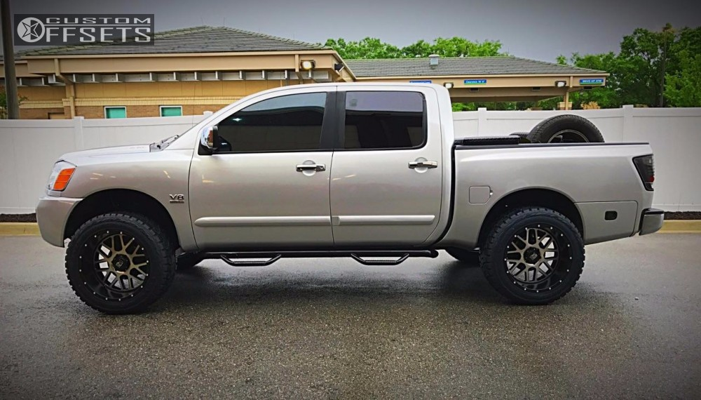 2004 Nissan Titan Xd Xd820 Rough Country Suspension Lift 6in