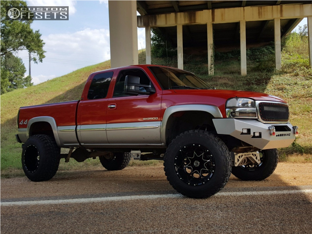 2000 gmc sierra 2500 scorpion sc10 mcgaughys suspension lift 9 custom offsets 2000 gmc sierra 2500 scorpion sc10