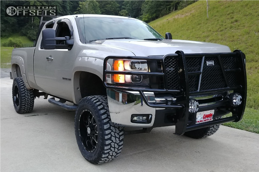 1 2008 Silverado 2500 Hd Chevrolet Superlift Suspension Lift 6in Scorpion Sc 10 Machined Black