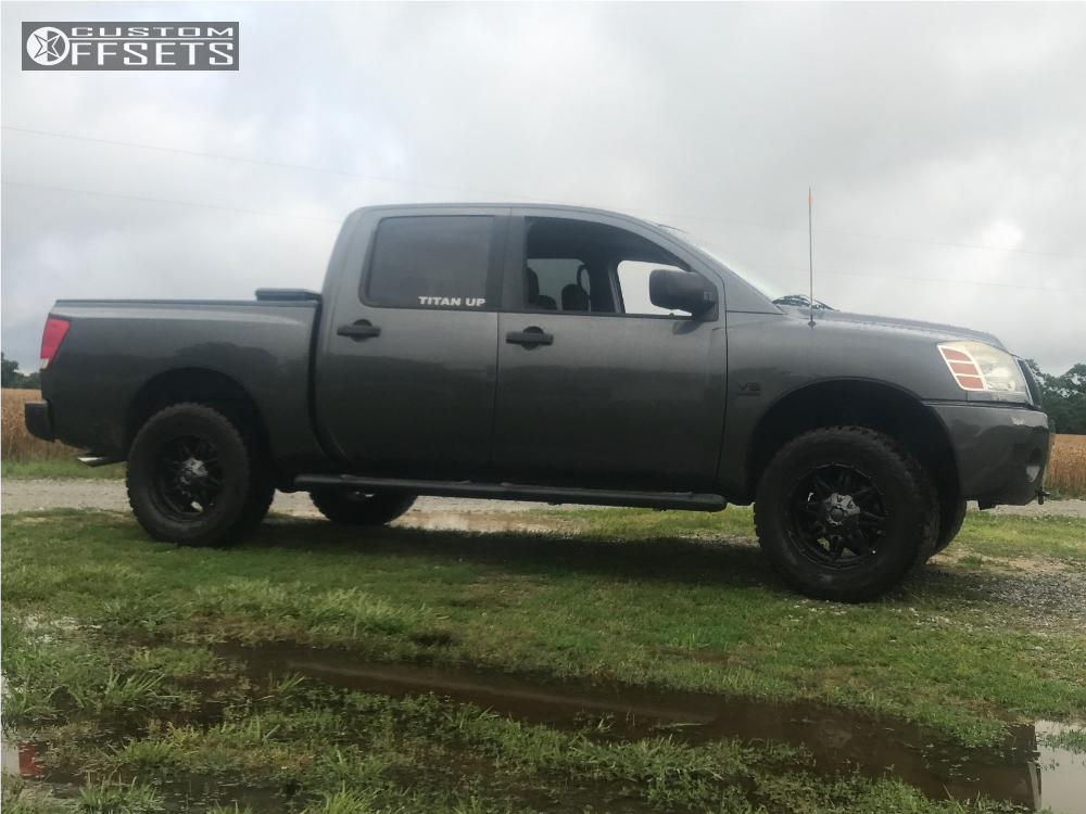 Rt 33 Nissan >> 2004 Nissan Titan Fuel Hostage Rough Country Leveling Kit
