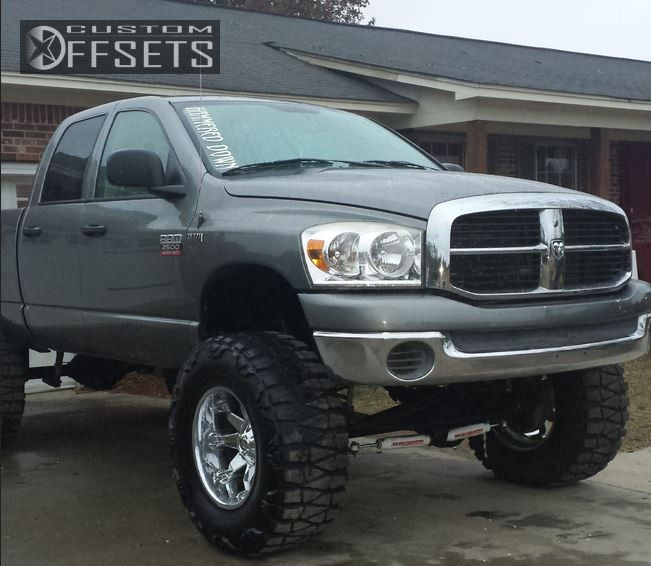 2007 Dodge Ram 2500 Fuel Octane Suspension Lift 9in