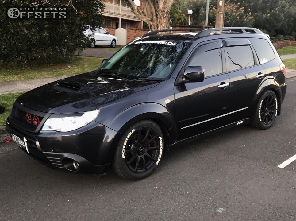 2009 subaru forester speedy bc racing coilovers. Black Bedroom Furniture Sets. Home Design Ideas