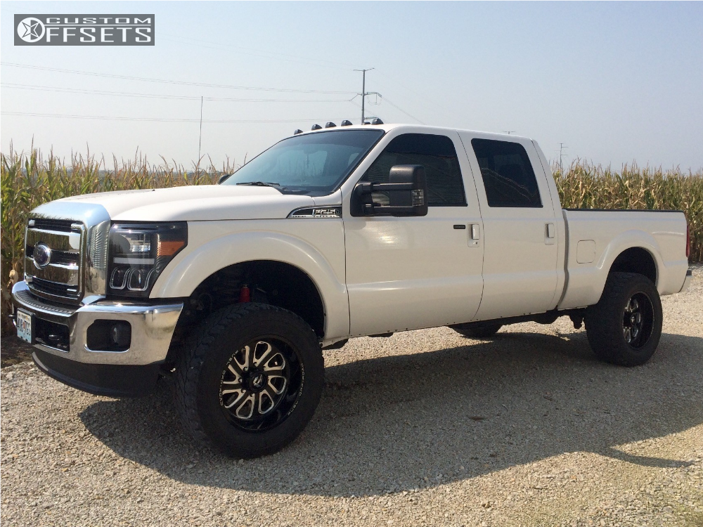 2015 Ford F 250 Super Duty Fuel Flow Rough Country