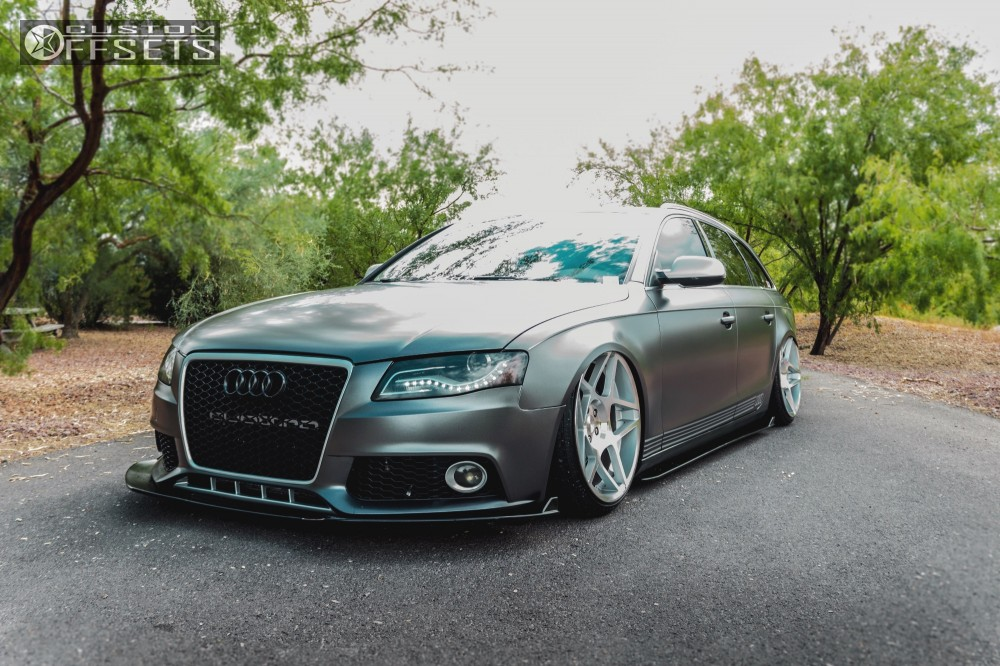 2010 audi a4 quattro 3sdm 008 accuair bagged. Black Bedroom Furniture Sets. Home Design Ideas
