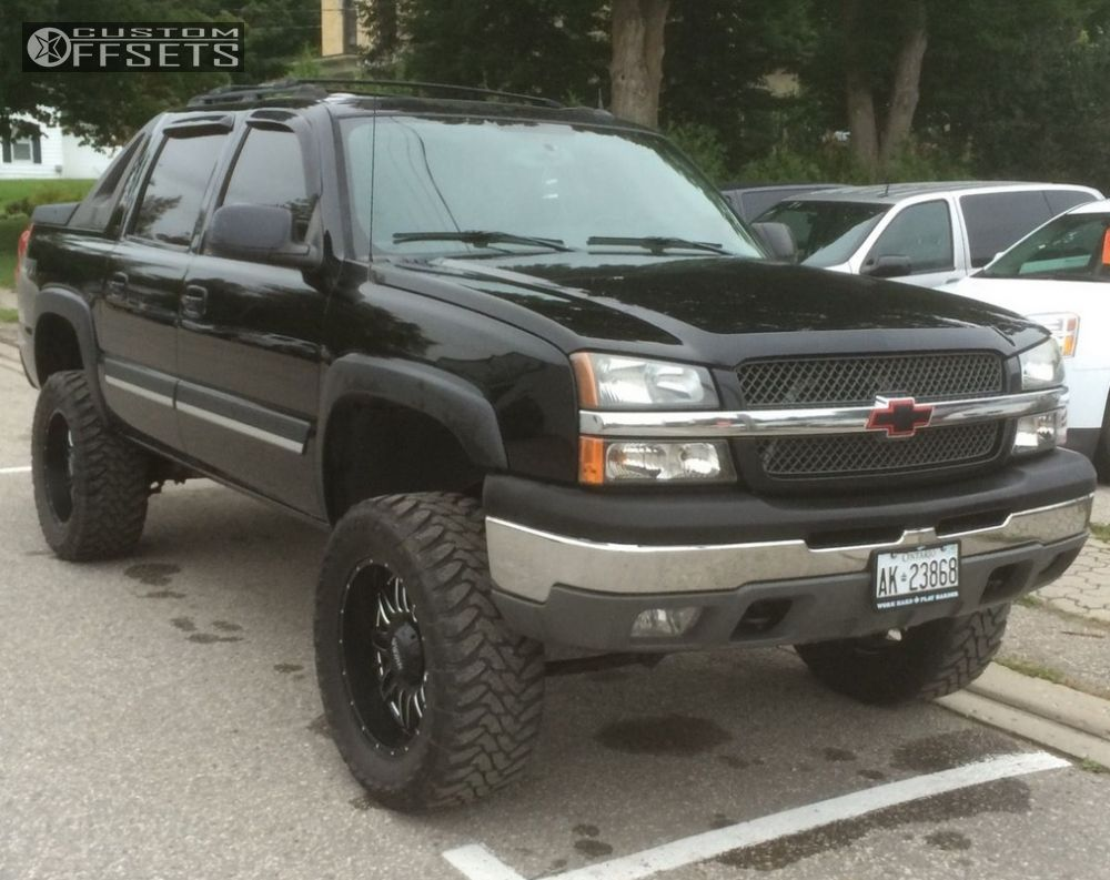 1 2005 avalanche 1500 chevrolet suspension lift 6 ultra 188 solider machined accents aggressive 1 outside