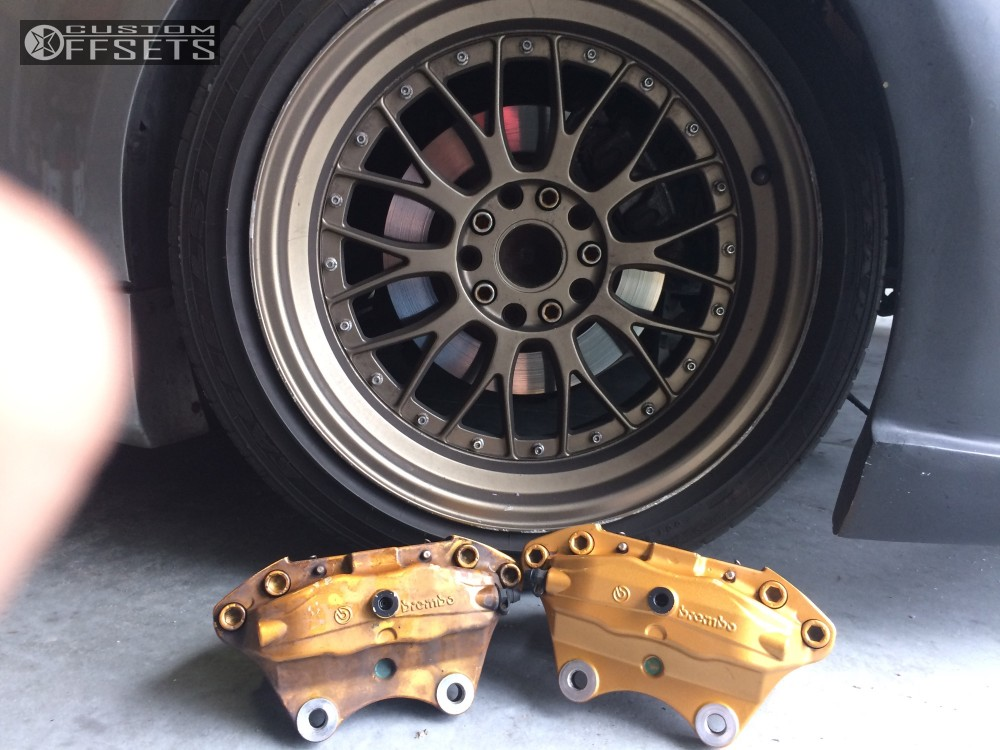 wheel offset 2004 nissan 350z nearly flush coilovers. Black Bedroom Furniture Sets. Home Design Ideas