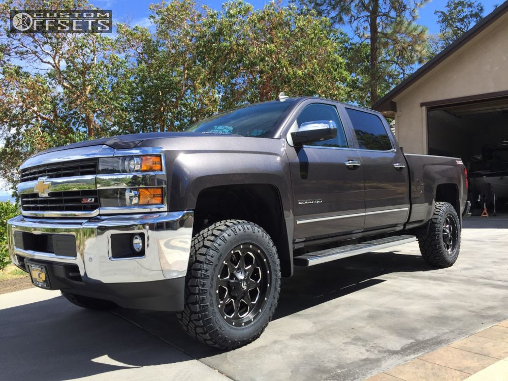 2015 silverado 2500 leveled images galleries with a bite. Black Bedroom Furniture Sets. Home Design Ideas