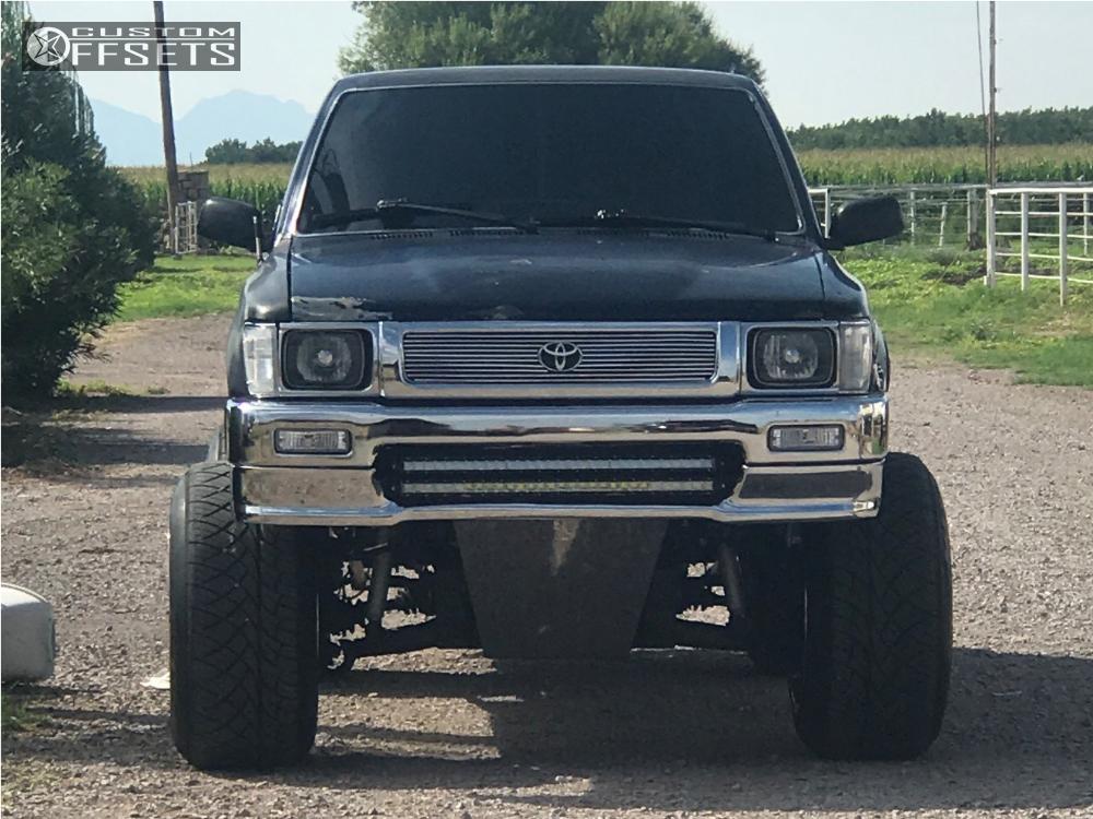1992 toyota pickup fuel maverick d536 pro comp suspension