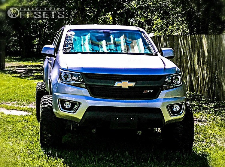 1 2016 Colorado Chevrolet Rough Country Suspension Lift 6in Vision Prowler Black