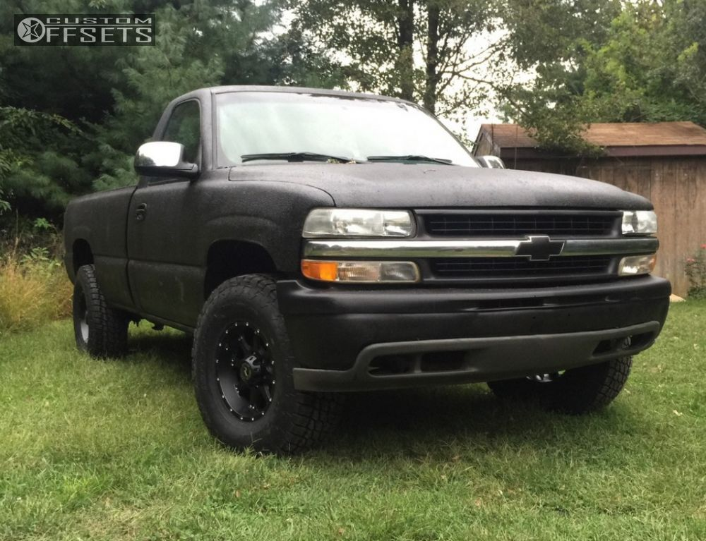 wheel offset 2001 chevrolet silverado 1500 slightly. Black Bedroom Furniture Sets. Home Design Ideas