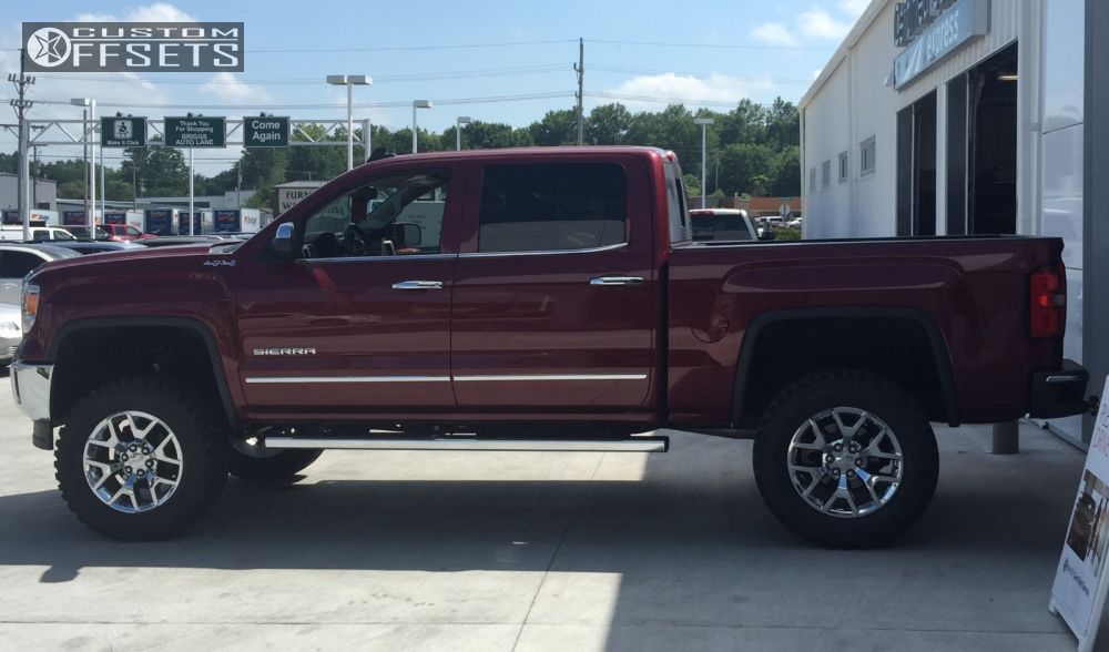Similiar GMC Lifted With Stock Rims And Tires Keywords