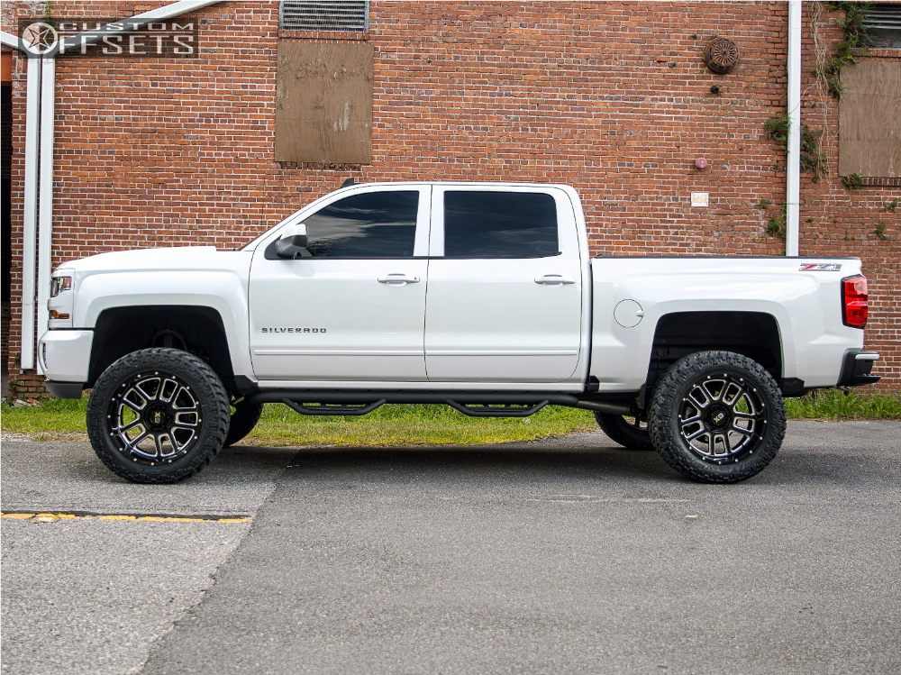 2016 chevrolet silverado 1500 xd xd828 havoc offroad. Black Bedroom Furniture Sets. Home Design Ideas