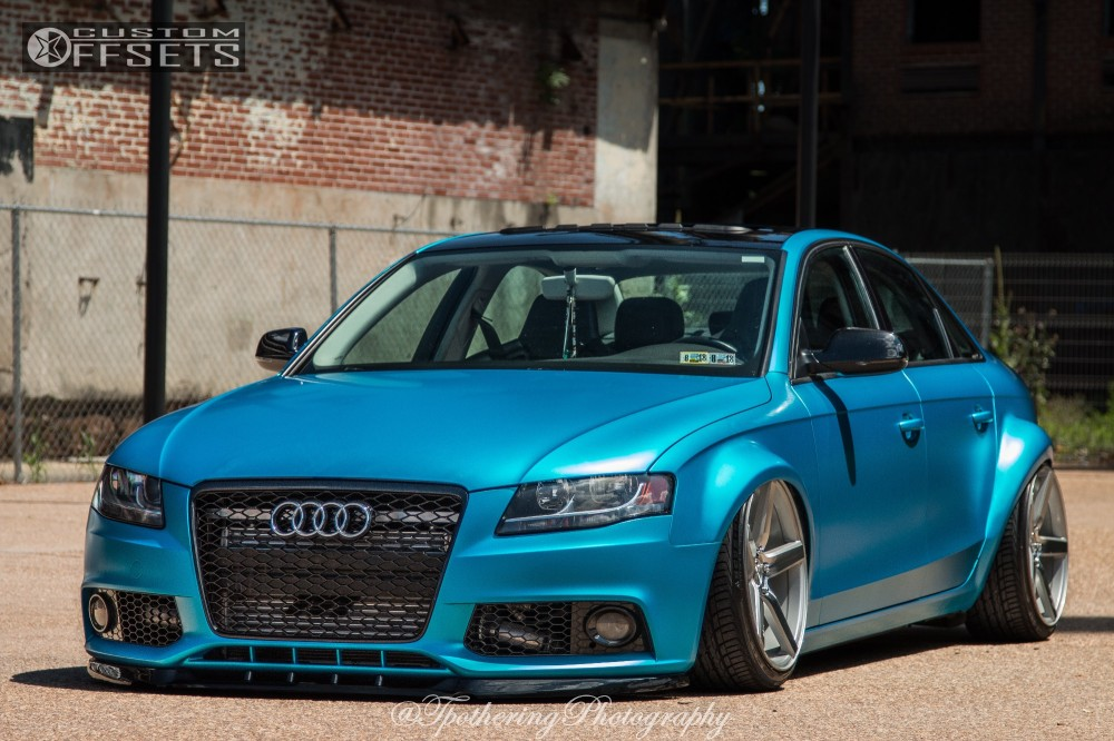 2011 audi a4 quattro niche milan air lift performance bagged. Black Bedroom Furniture Sets. Home Design Ideas