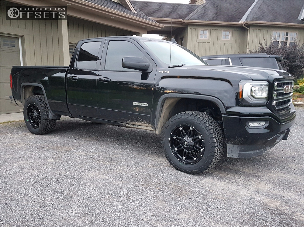 2017 Gmc Sierra 1500 Fuel Hostage Rough Country Leveling Kit