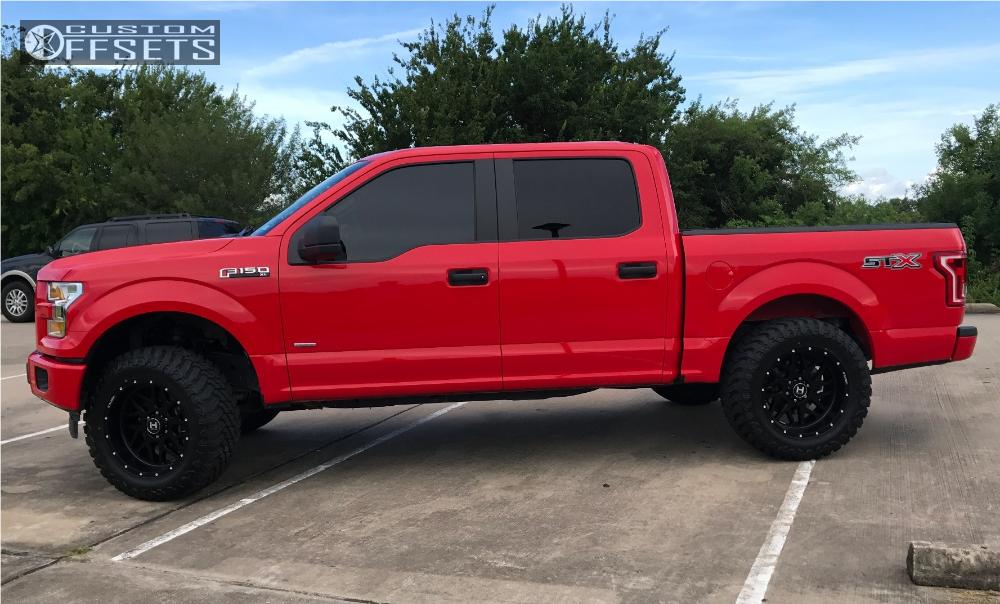 Ford Ebay Suspension Lift In Hostile Sprocket Matte Black