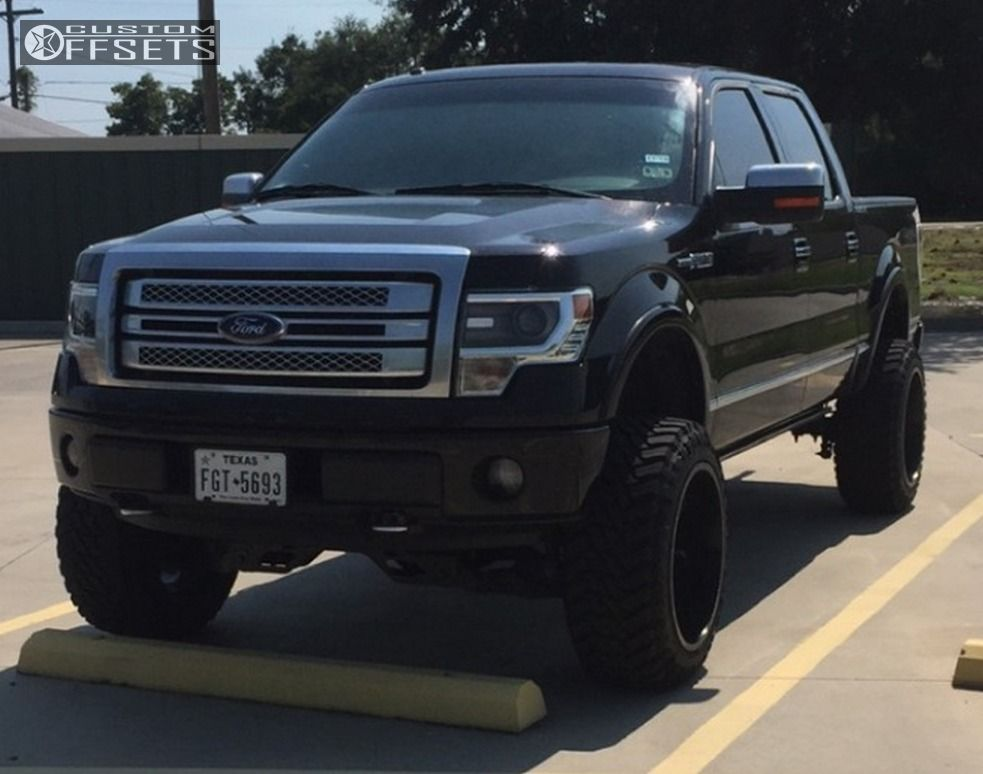 1 2013 F 150 Ford Suspension Lift 6 Cali Offroad Busted Black Super Aggressive 3 5