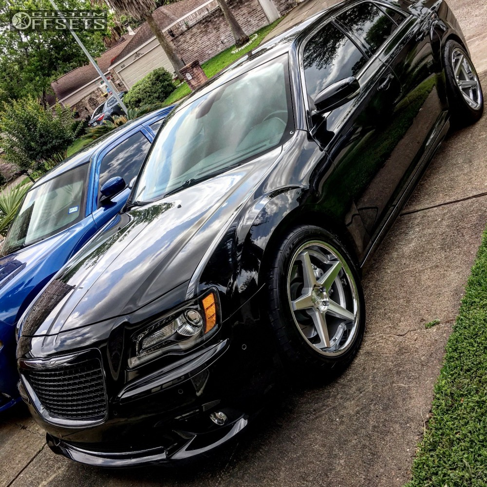 2012 Chrysler 300 Ferrada Fr3 Stock Stock