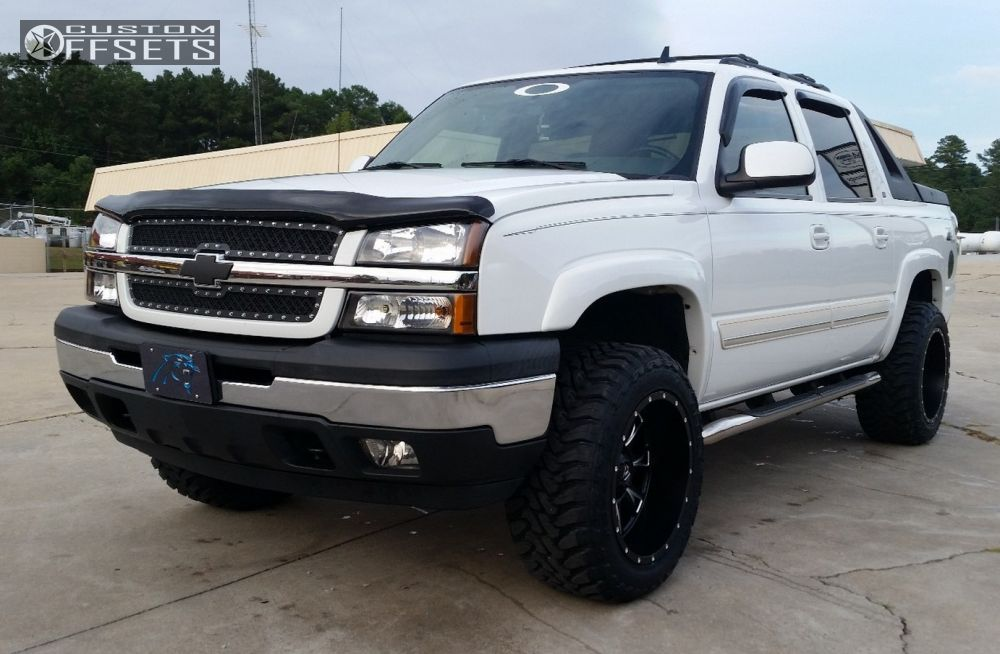 Pictures Of Chevy Avalanche Truck >> 2006 Chevrolet Avalanche Fuel Throttle Supreme Suspension Leveling Kit
