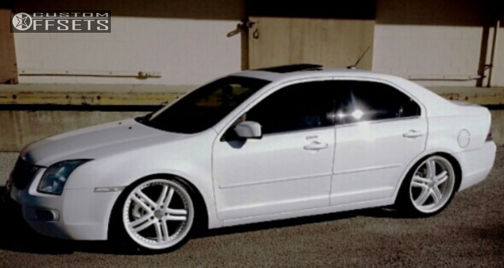 Wheels X15 White Tucked 1 2008 Fusion Ford Dropped 3 Xix