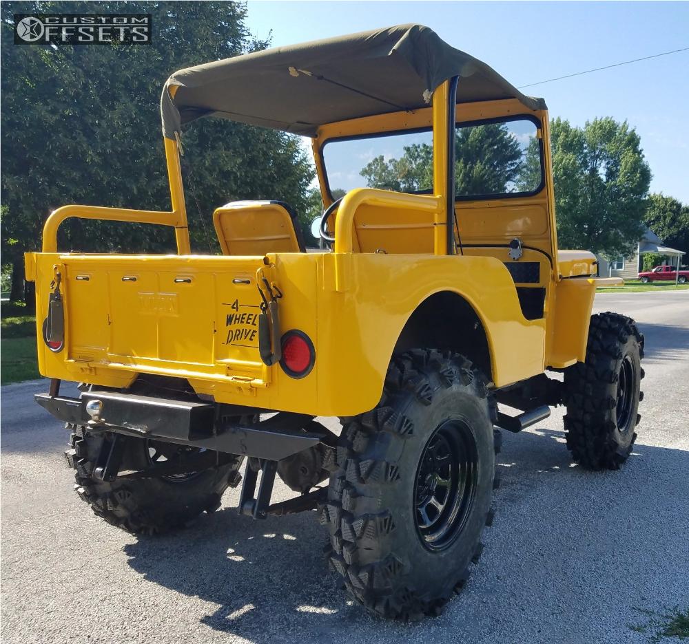 Wheel Offset 1949 Jeep Cj5 Aggressive 1 Outside Fender Body