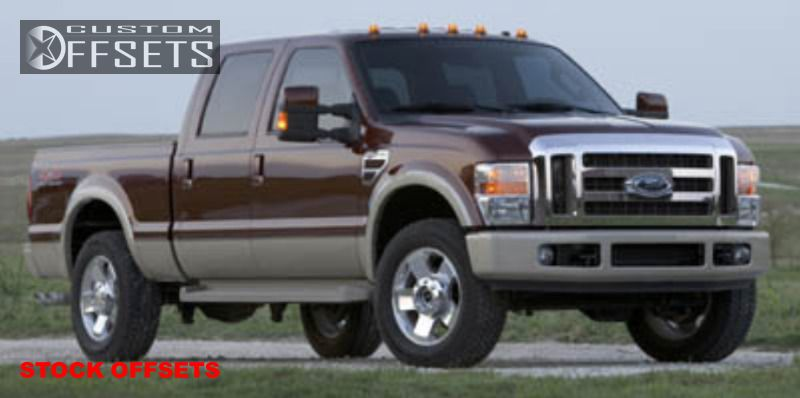 wheel offset 2005 2012 ford f 250 super duty oem factory stock custom rims. Black Bedroom Furniture Sets. Home Design Ideas