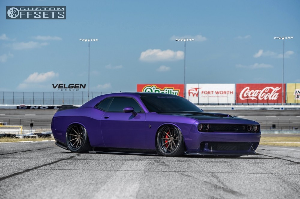 2016 dodge challenger velgen wheels vfmp10 air lift. Black Bedroom Furniture Sets. Home Design Ideas