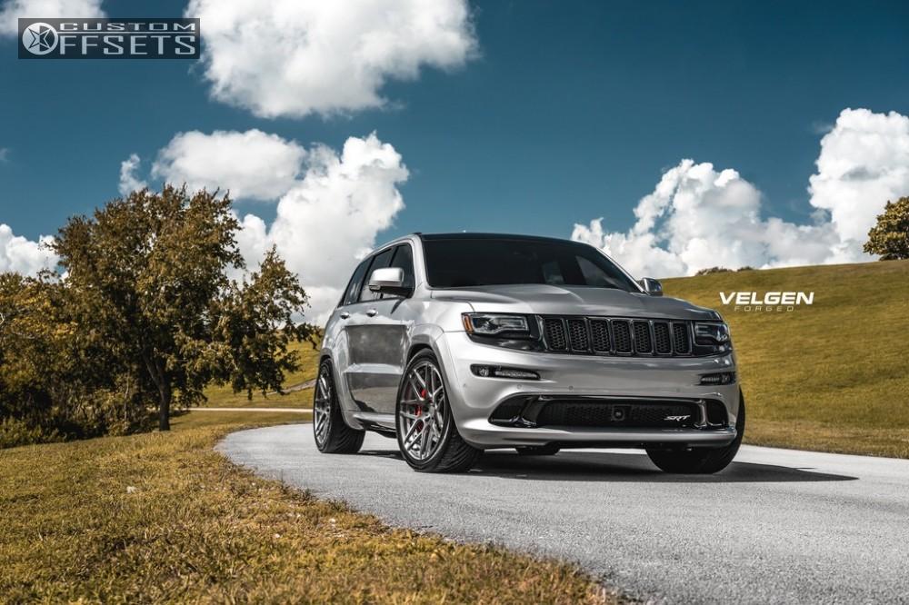 2016 Jeep Grand Cherokee Velgen Wheels Vfdb7 Road Magnets