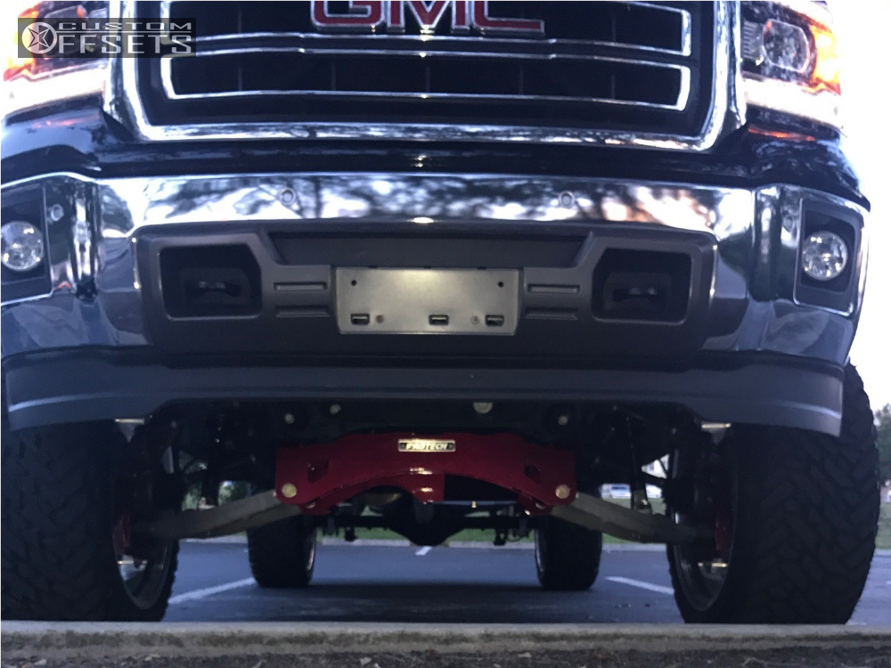 11 2014 Sierra 1500 Gmc Fabtech Suspension Lift 6in American Force Trax Ss Polished
