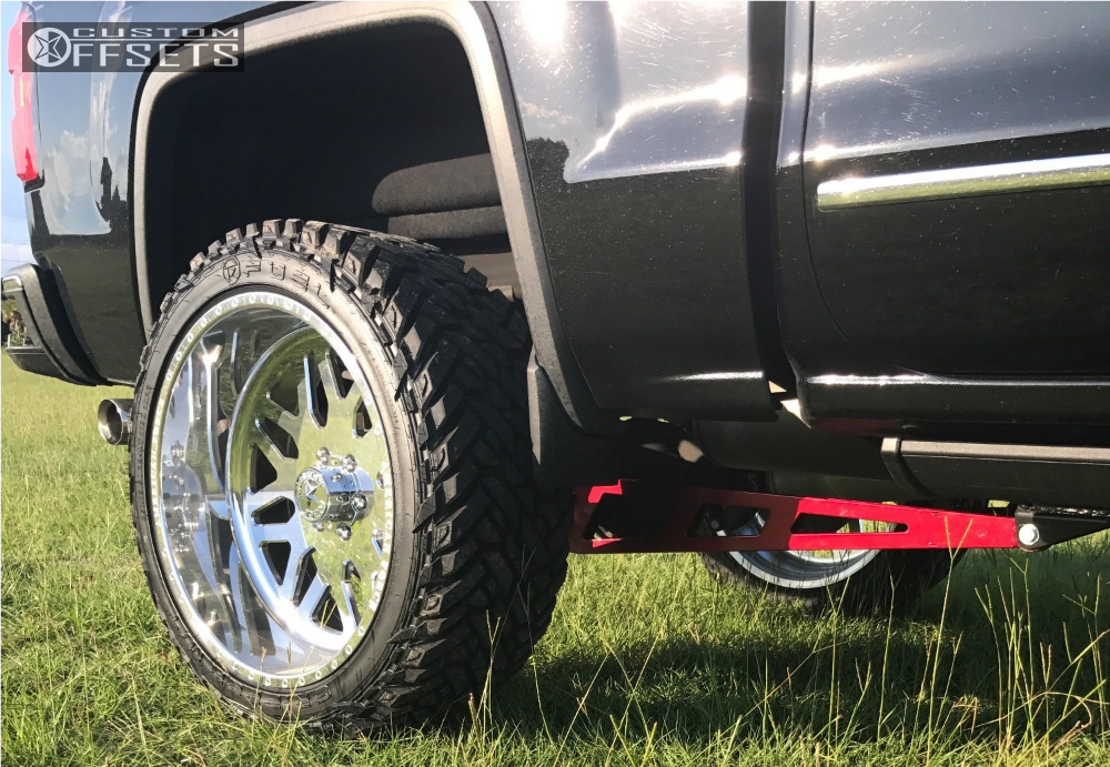 5 2014 Sierra 1500 Gmc Fabtech Suspension Lift 6in American Force Trax Ss Polished