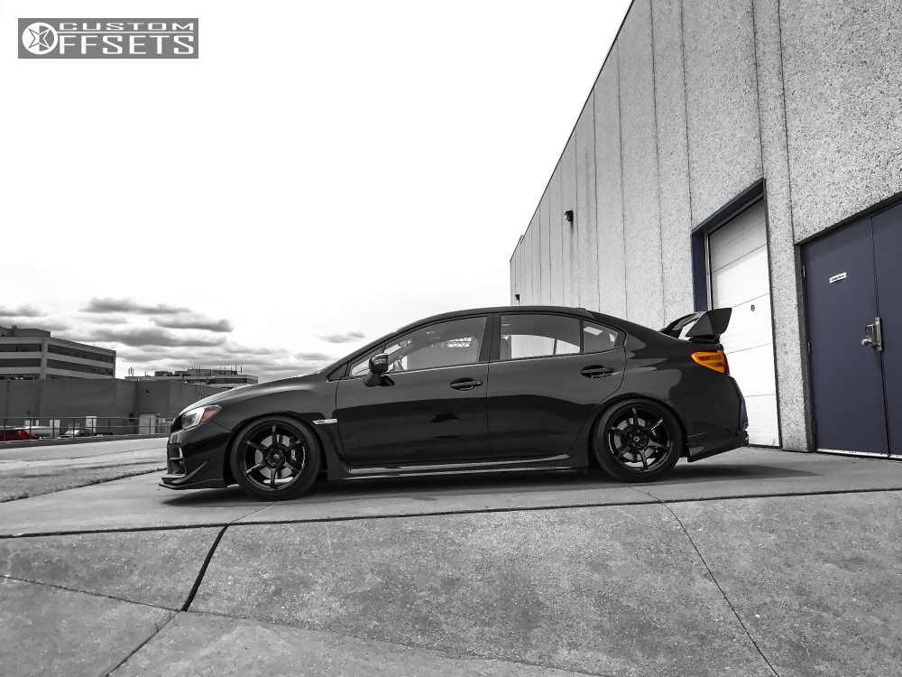 subaru wrx 2015 black. 14 2015 wrx sti subaru bc racing coilovers advan rgiii black