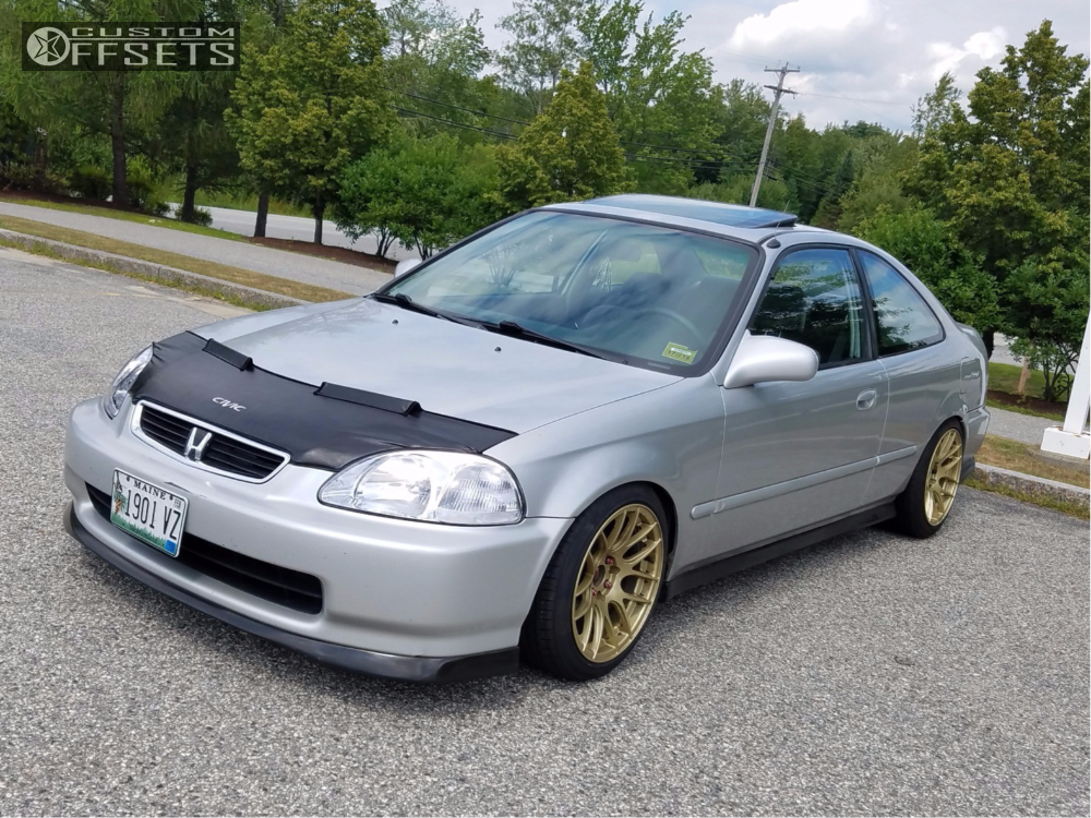 1998 honda civic xxr 530 function and form coilovers for Gold honda civic