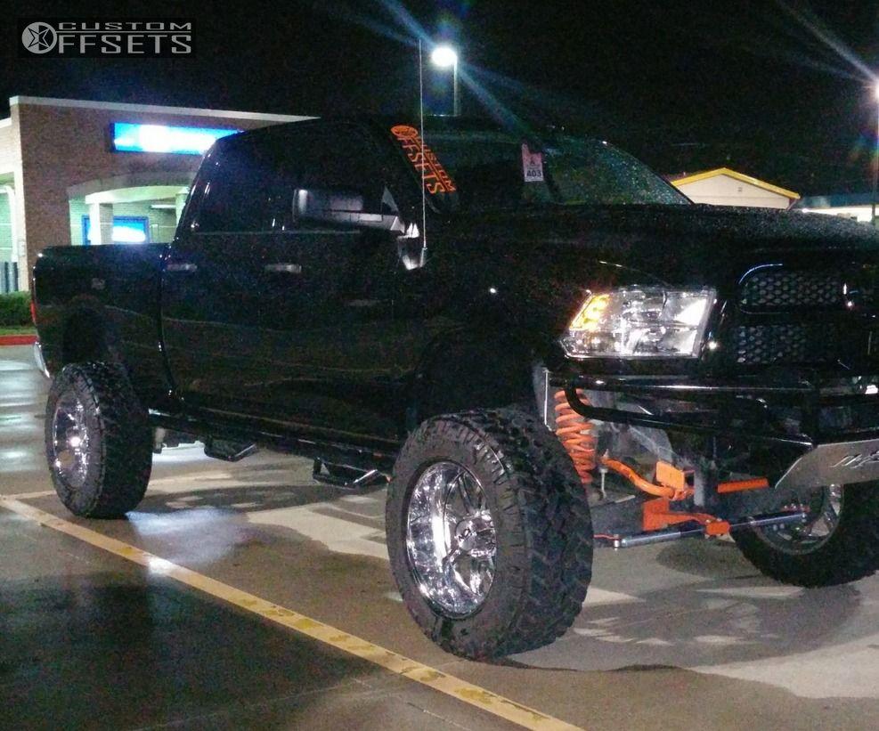 26776 1 2014 ram 2500 dodge suspension lift 6 alloy ion style 183 chrome super aggressive - Dodge Ram 2500 44 2014