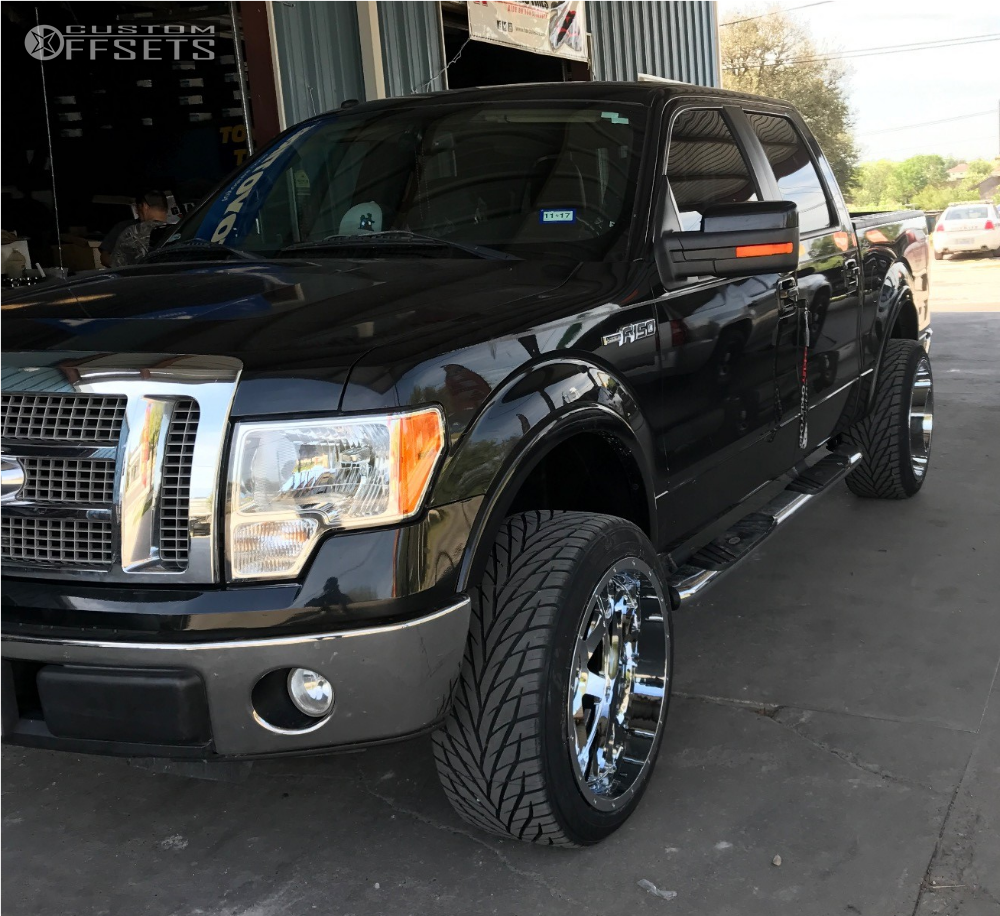 Leveling Kit For Ford F150: 2010 Ford F 150 Gear Alloy Big Block Readylift Leveling Kit