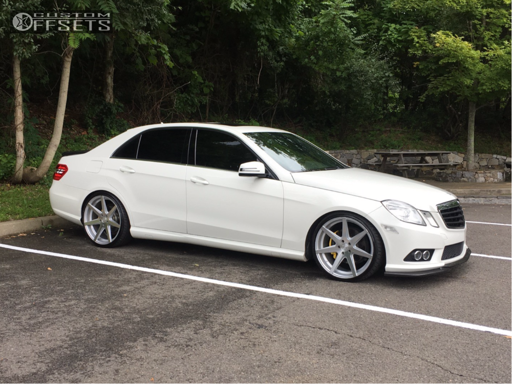 2010 mercedes benz e350 rohana rc7 vogtland lowering springs. Black Bedroom Furniture Sets. Home Design Ideas