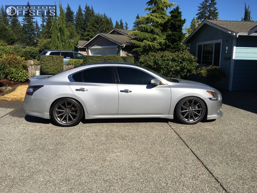 Nitto Tires Racing >> 2011 Nissan Maxima Vossen Cv1 Bc Racing Coilovers