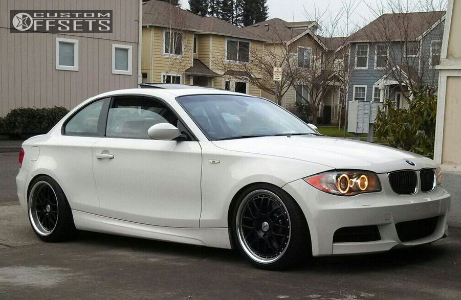 1 2008 128i Bmw 135i 2dr Coupe 30l 6cyl Turbo 6m Dropped 3 Tsw Grids