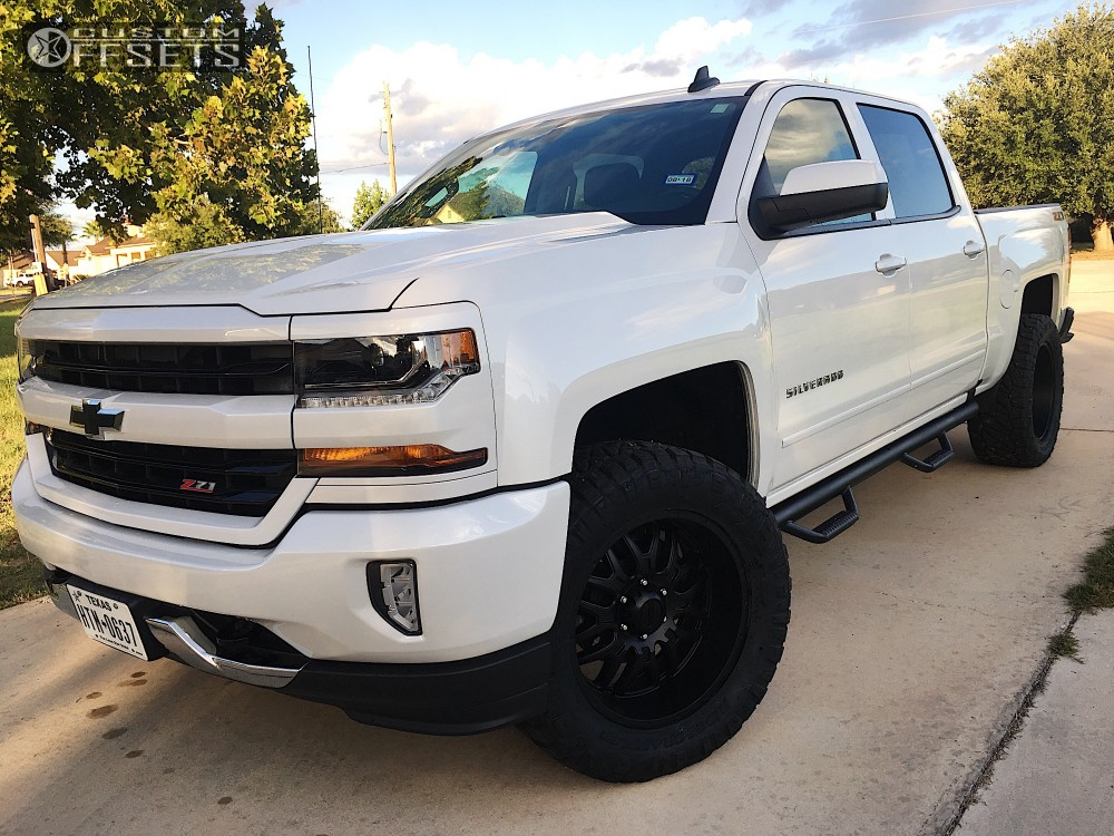 2016 chevrolet silverado 1500 ultra hunter rough country leveling kit. Black Bedroom Furniture Sets. Home Design Ideas