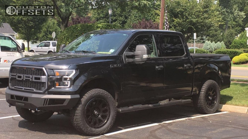 Custom Ford F 150 Raptor >> 2015 Ford F 150 Fuel Vector Rough Country Leveling Kit