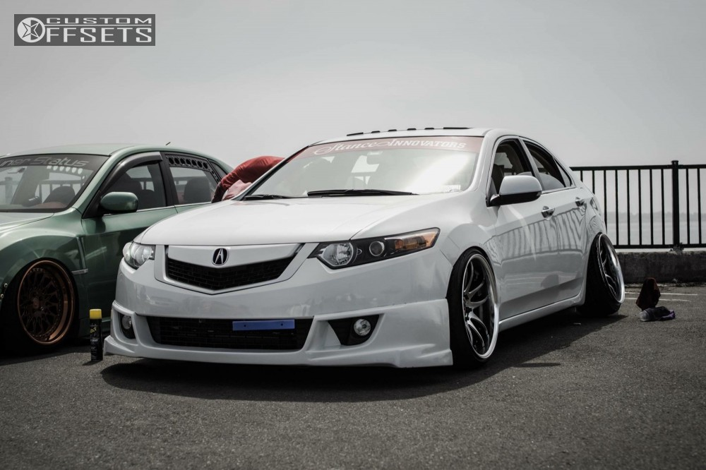 Acura Tsx Work Crp Bc Racing Coilovers - 2018 acura tsx coilovers
